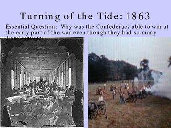 Gettysburg, Vicksburg turning the tide of civil war
