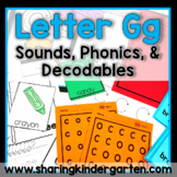 Letter Gg {Print & Play Pack}