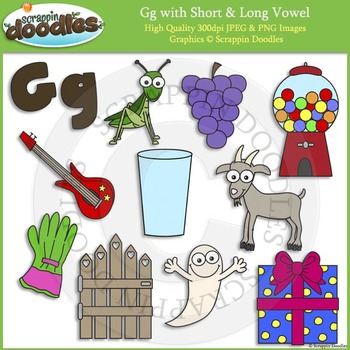 G Short and Long Vowel