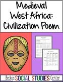 Ghana, Mali or Songhai Activity - Evidence-Based Poem