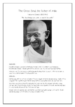 Ghandi, the Great Soul