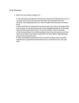 Ghetto Cowboy Chapter 15-18 Quiz