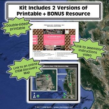 Ghiradelli Square STEM Discovery Cards Kit