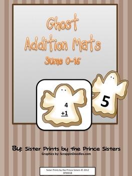 Ghost Addition Math Mats