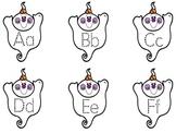 Kindergarten Halloween - Ghost Alphabet Tracing Book