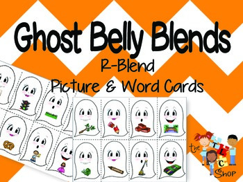 Ghost Belly Blends - Words with R-blends
