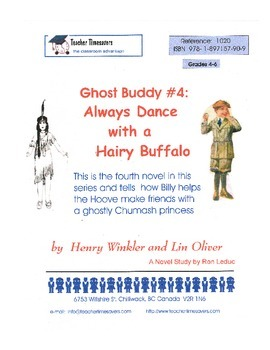 Ghost Buddy 4 - Always Dance with a Hairy Buffalo by Henry Winkler & Lin Oliver