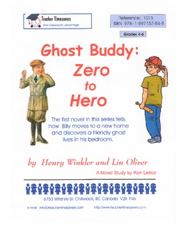 Ghost Buddy 1 - Zero to Hero by Henry Winkler and Lin Oliv