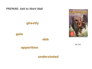 Ghost Canoe by Will Hobbs: Structured Literature Circle PP Slides