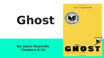 Ghost Chapters 6-10 Vocabulary, Bell Ringers, Freytag's Pyramid, and Exit Slips