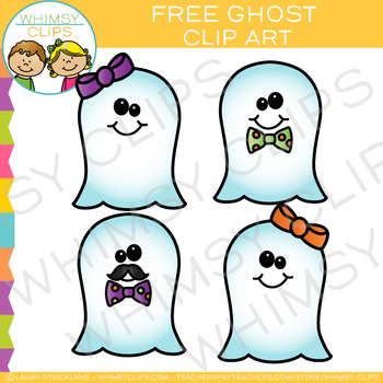Free Ghost Halloween Clip Art