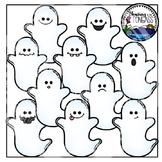 Ghost Clipart (Halloween Clipart)