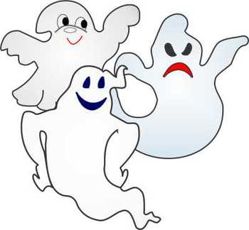 Halloween (Ghost) Clipart by Nita Marie