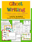 Ghost Cloze Sentence writing activity for beginning writers