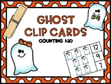 Ghost Counting Clip Cards