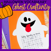Ghost Craftivity For Speech & Language FREE Printable