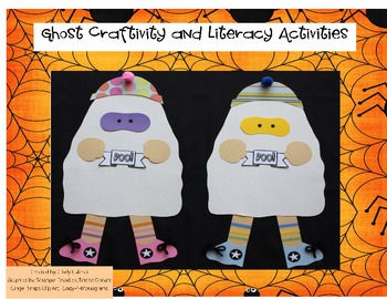 Ghost Craftivity and Math & Literacy Activities