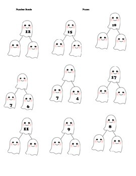 Ghost: Decomposing Numbers/ Number Bonds