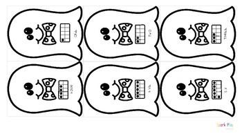 Ghost Dominoes: Halloween Numeracy Game