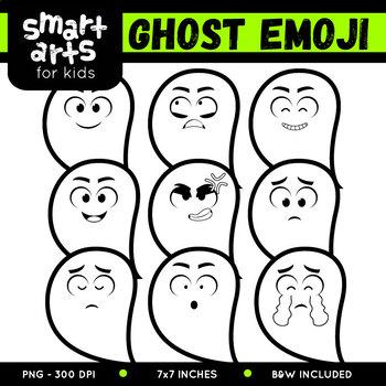Ghost Emoji Clip Art