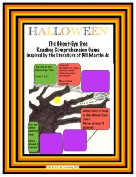 Halloween Game:  Ghost-Eye Tree Reading Comprehension (CCS