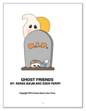 Ghost Friends Halloween Story with Reading and Grammar Activities