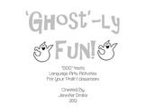 Ghost Fun! ~Spook-tacular Fun To Add To Your Halloween Festivities!~