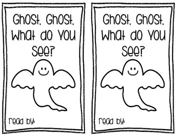 Halloween Emergent Reader- Ghost, Ghost, What do you See?
