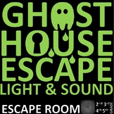Light and Sound, Speed, Shadows, Light Sources: SCIENCE Escape Room