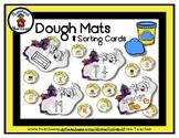 Ghost House - Play Dough Manipulative Mats - Alphabet Numb