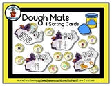 Ghost House - Play Dough Manipulative Mats - Alphabet Numb