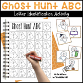 Ghost Hunt ABC Letter Identification Activity
