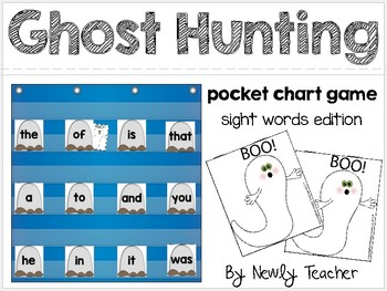 Ghost Hunters (pocket chart game)