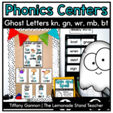 Ghost Letters Silent Letters Word Work Activities