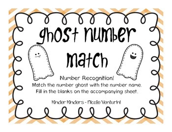 Ghost Math / Number Matching
