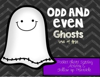 Ghost Odd or Even FREEBIE!