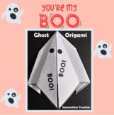 Ghost Origami (Halloween Boo)