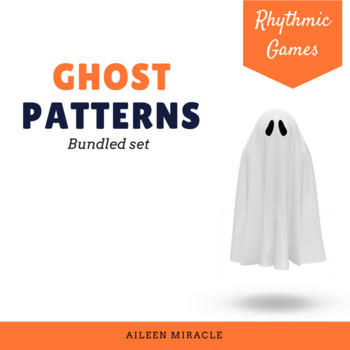 Halloween Music Games: Ghost Patterns {Bundled Set}