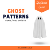 Halloween Music Game for Ta and Ti-Ti: Ghost Rhythm Reading Patterns