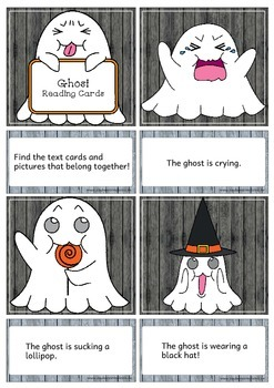 Ghost - Reading/Writing Cards