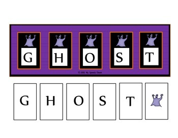 Ghost Spelling Speech Therapy Game