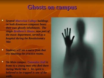 Reading- True Ghost Stories!