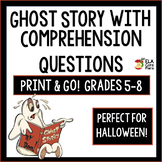 Middle School ELA ~Story with Comprehension Questions ~Printable & Google