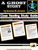 Ghost Story by Jerome K. Jerome: Close Reading Study Guide