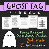 Ghost Tag Close Reading Fluency Passage & Comprehension Freebie {Grade 2}