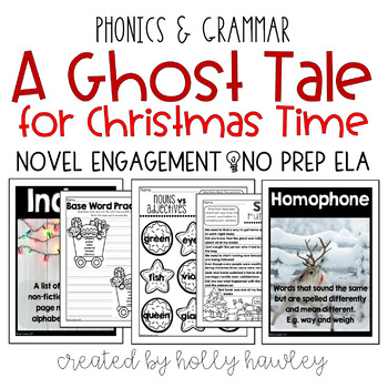 Ghost Tale for Christmas Time NO PREP (ELA)