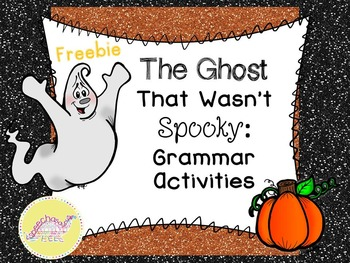 Ghost Talk Blog Hop Grammar Freebie