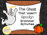 Ghost Talk Blog Hop Grammar Freebie