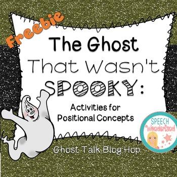 Ghost Talk Blog Hop  Positional Concepts Freebie