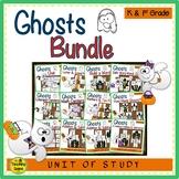 Ghost Themed Literacy & Math Bundle